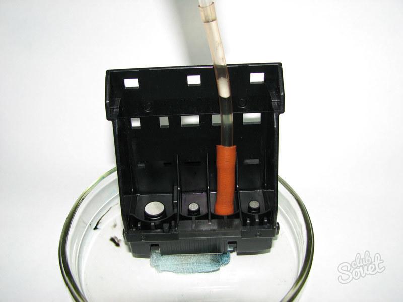 Промывочную жидкость для принтера epson своими руками