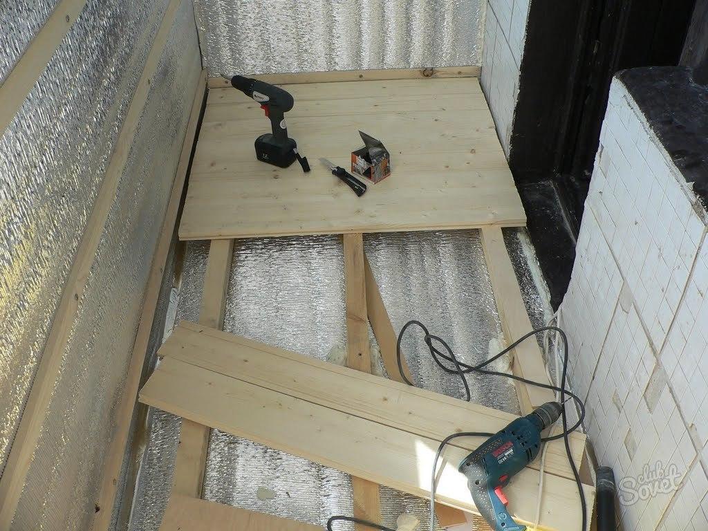 Утеплить балкон своими руками пошаговое
