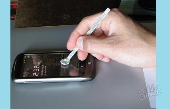 Как сделать стилус на телефон