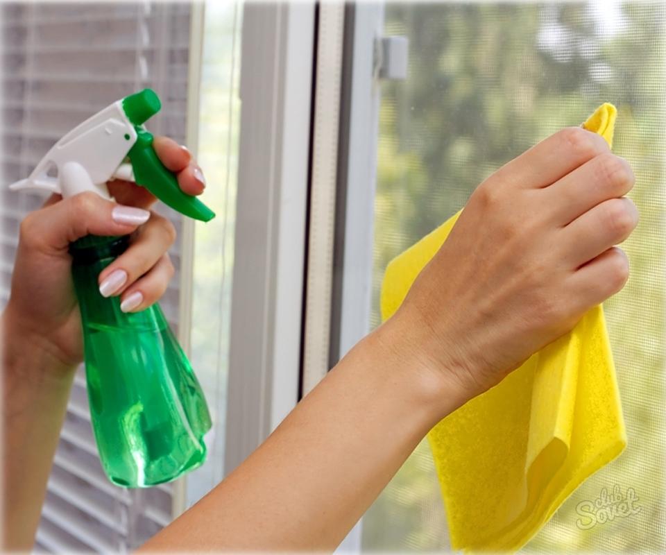 Как помыть окна без разводов в домашних условиях 916