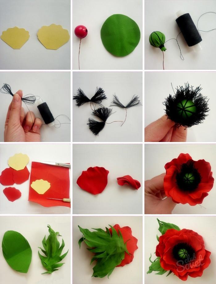 Интересный цветок своими руками 5