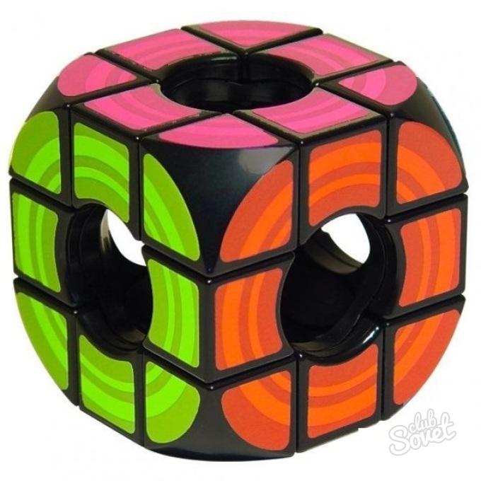 Алгоритм сборки Кубика Рубика