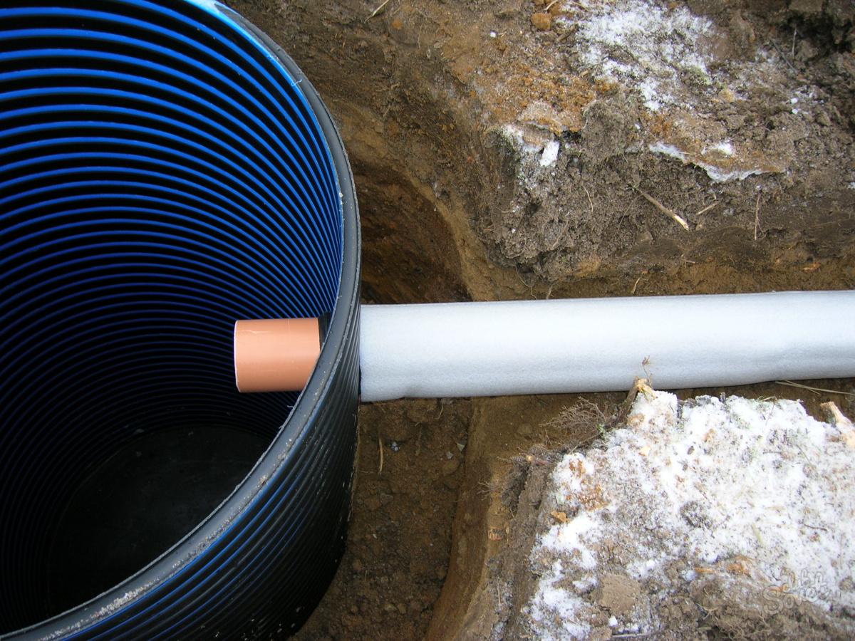 Наружный водопровод утепление своими руками