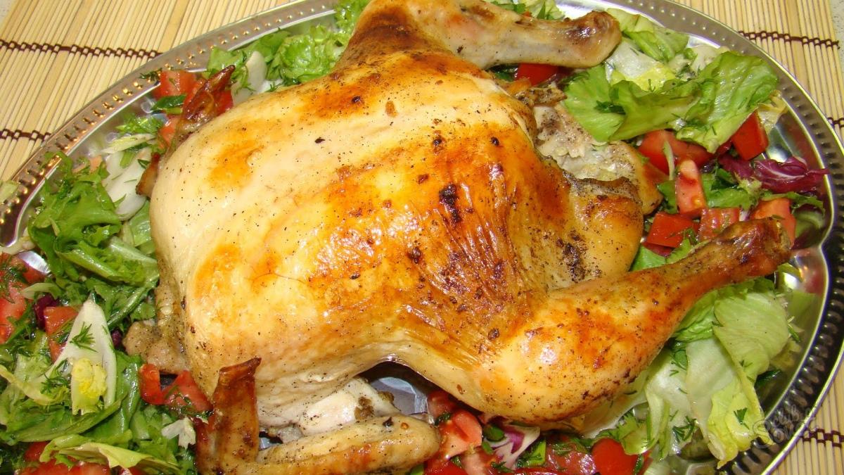 Салат с руколой и курицей рецепт