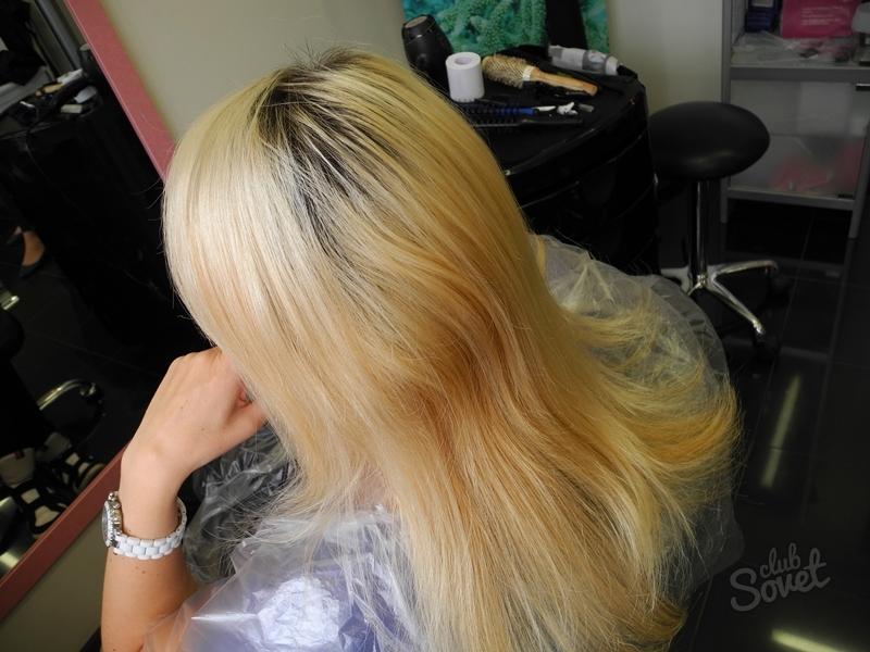 Как покрасить блондинку без желтизны в домашних
