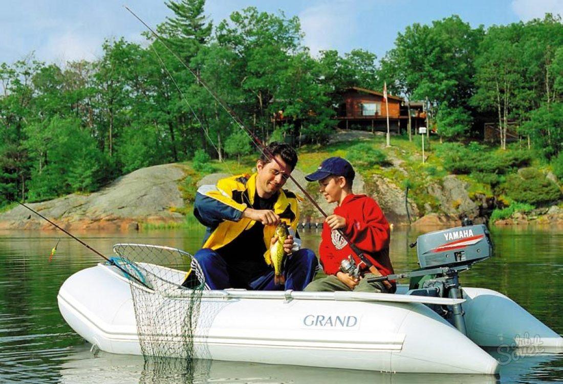 лодка для рыбалки на одного рыбака