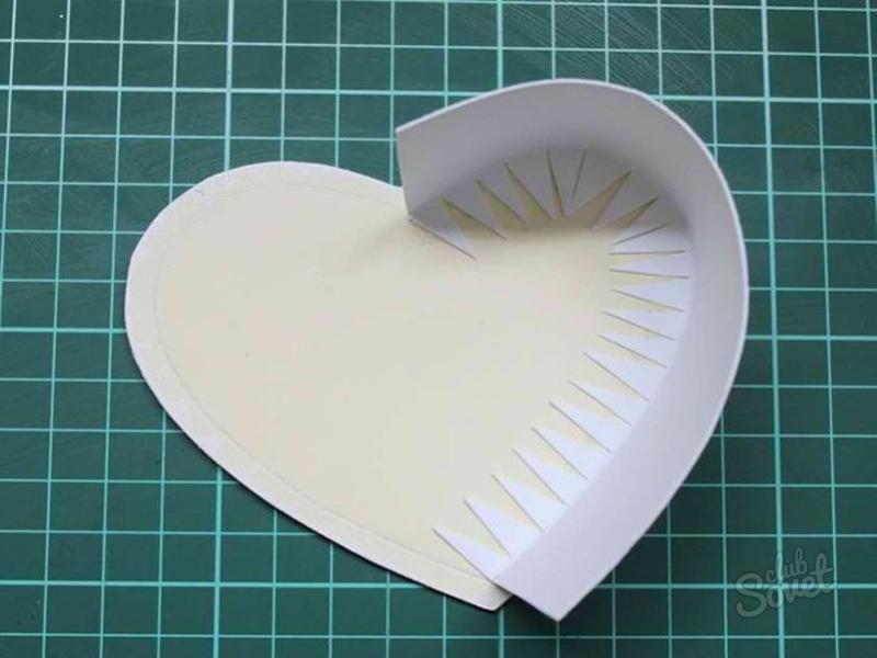 Коробочка сердцем своими руками
