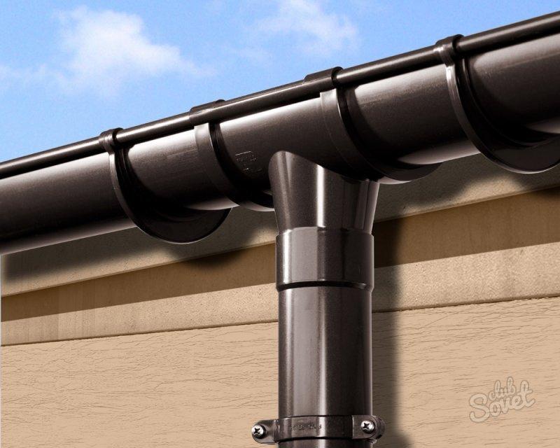 Монтаж водосточной системы своими руками технониколь