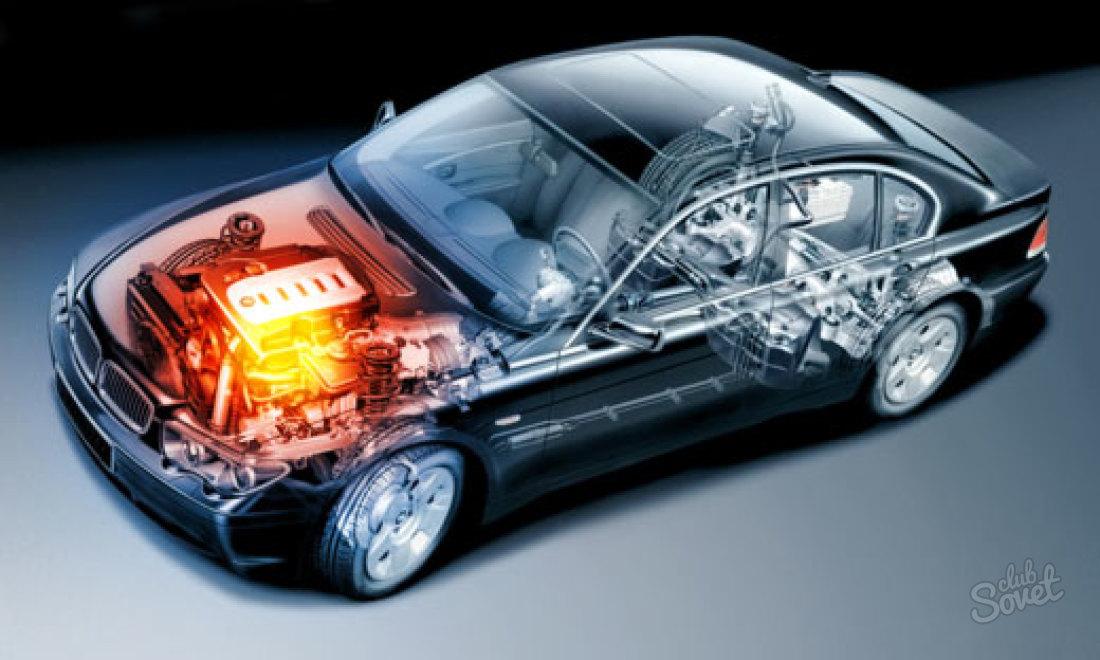 двигатель машины