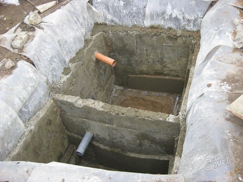 Яма канализация для частного дома своими руками