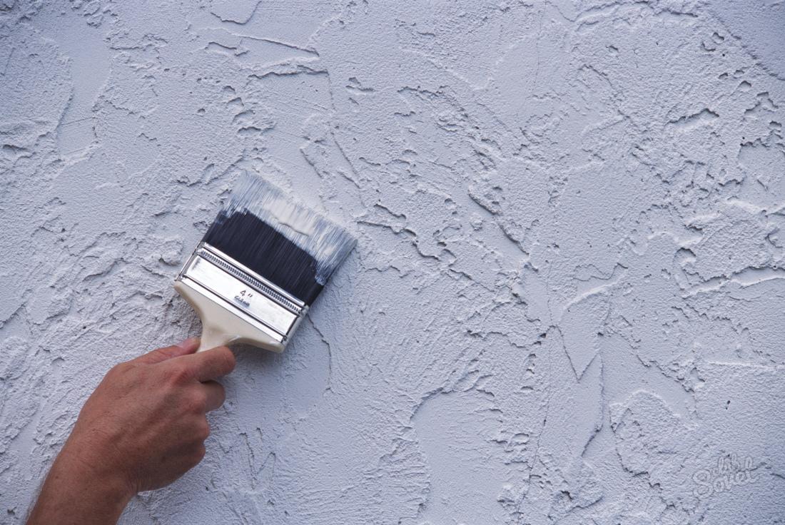 Штукатурка и покраска стен своими руками видео