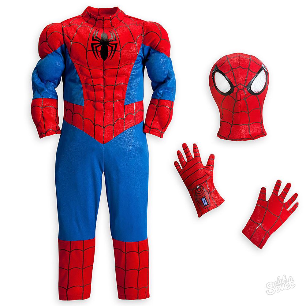 Как сшить костюм человек паук 341