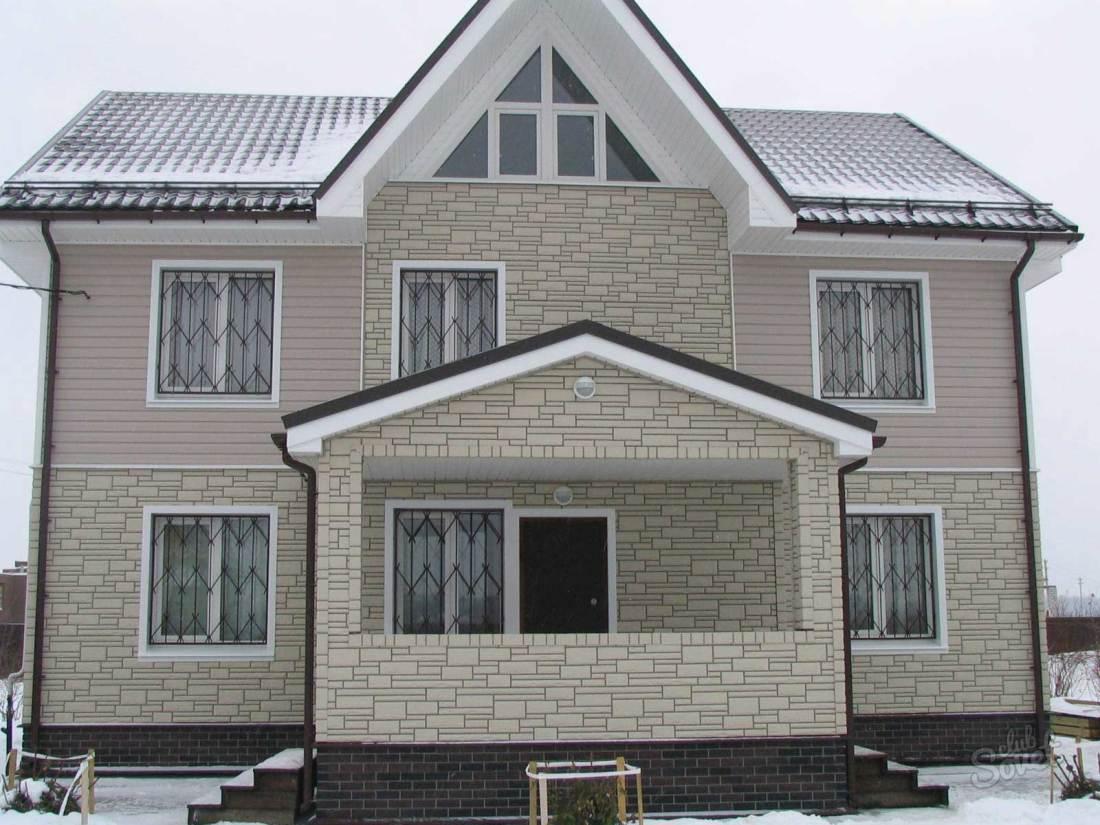 Дизайн дома из сайдинга фото