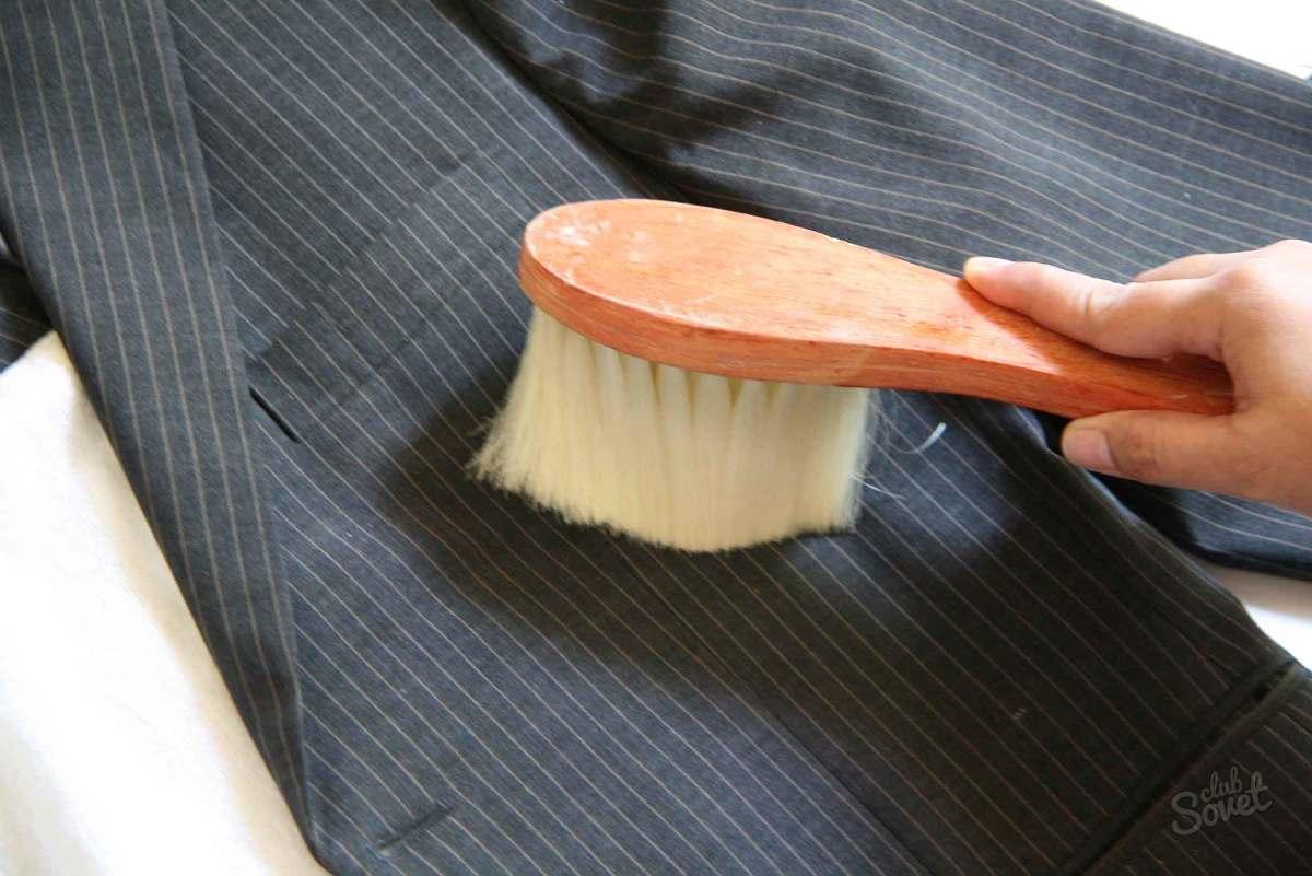 Химчистка костюма в домашних условиях своими руками