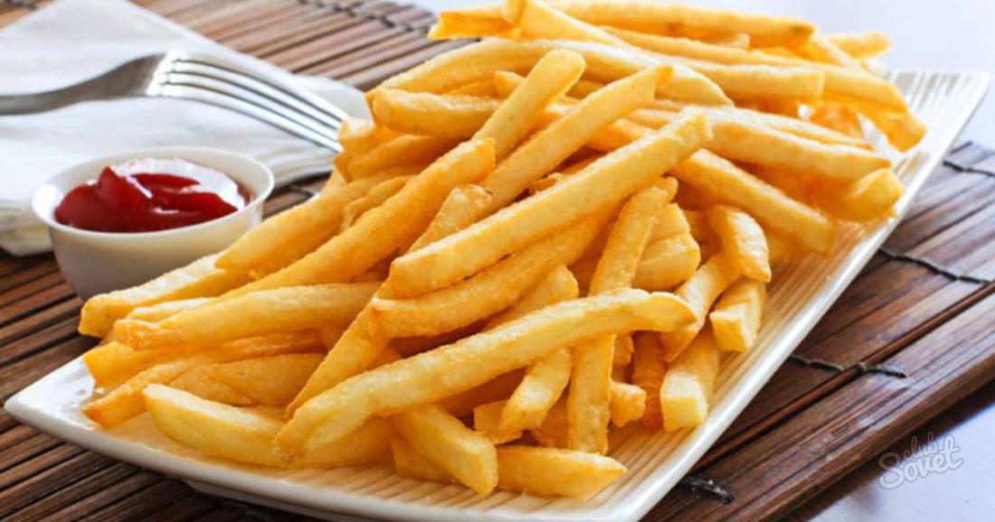 Картошка фри в духовке рецепт с фото пошагово без масла
