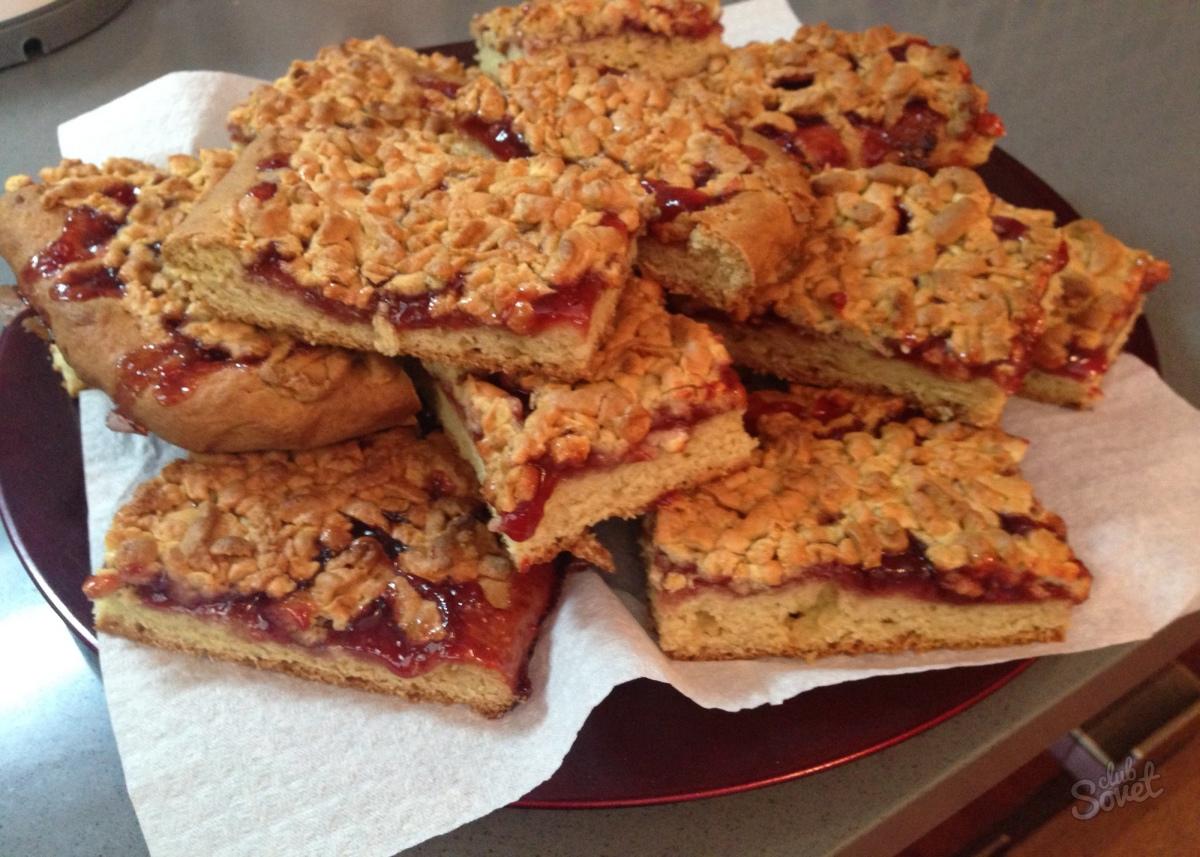 Песочное тесто для пирога с вареньем рецепт с