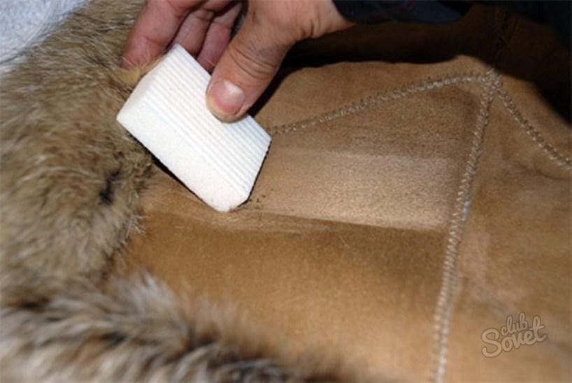 Почистить дубленку из овчины в домашних условиях 371