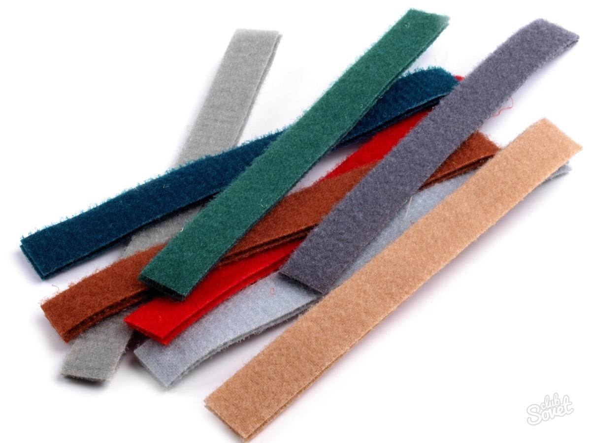 Как сделать липучку для ткани