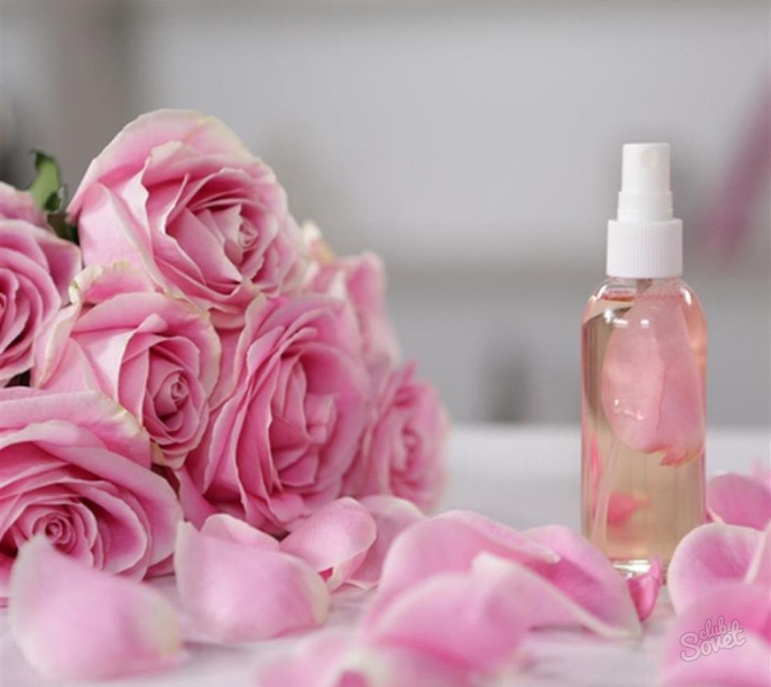 Розовая вода для лица приготовить в домашних условиях