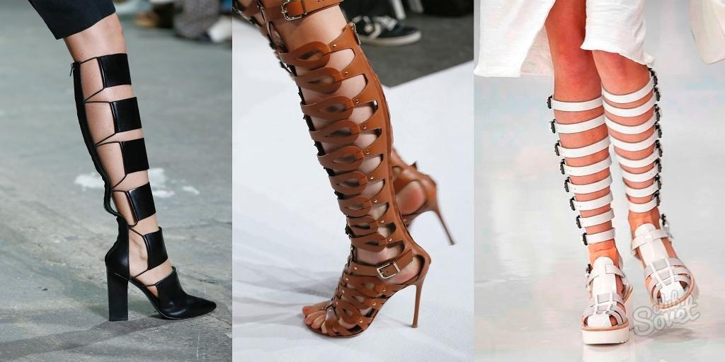 Модная летние сапоги