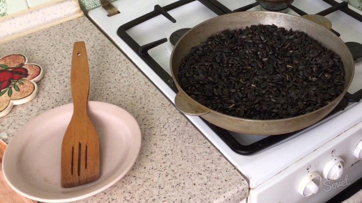 Как правильно пожарить семечка