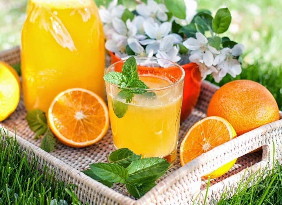 Как сделать напиток из апельсинов в домашних условиях 820