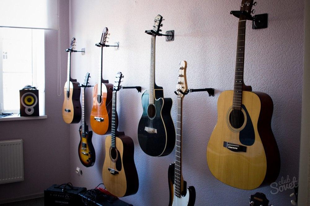 Как сделать из классической гитары электрогитару