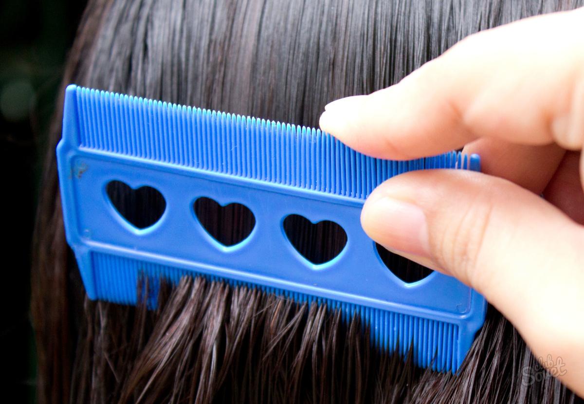 Как удалить гнид с длинных волос в домашних условиях