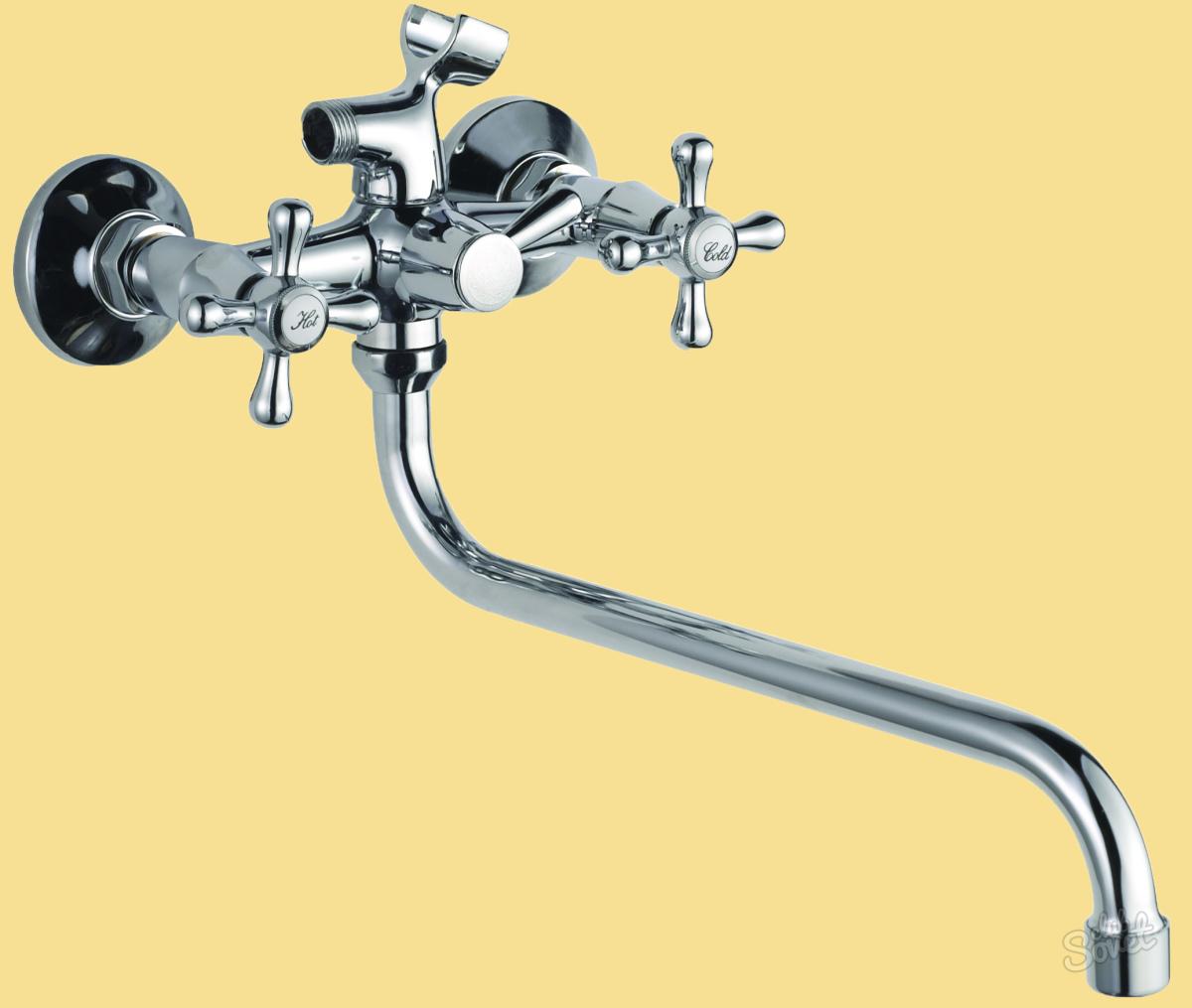 Смеситель для ванной схема