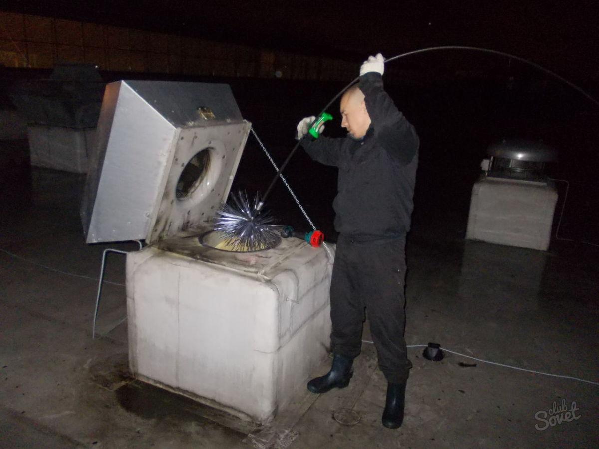 Как почистить русскую печь от сажи своими руками