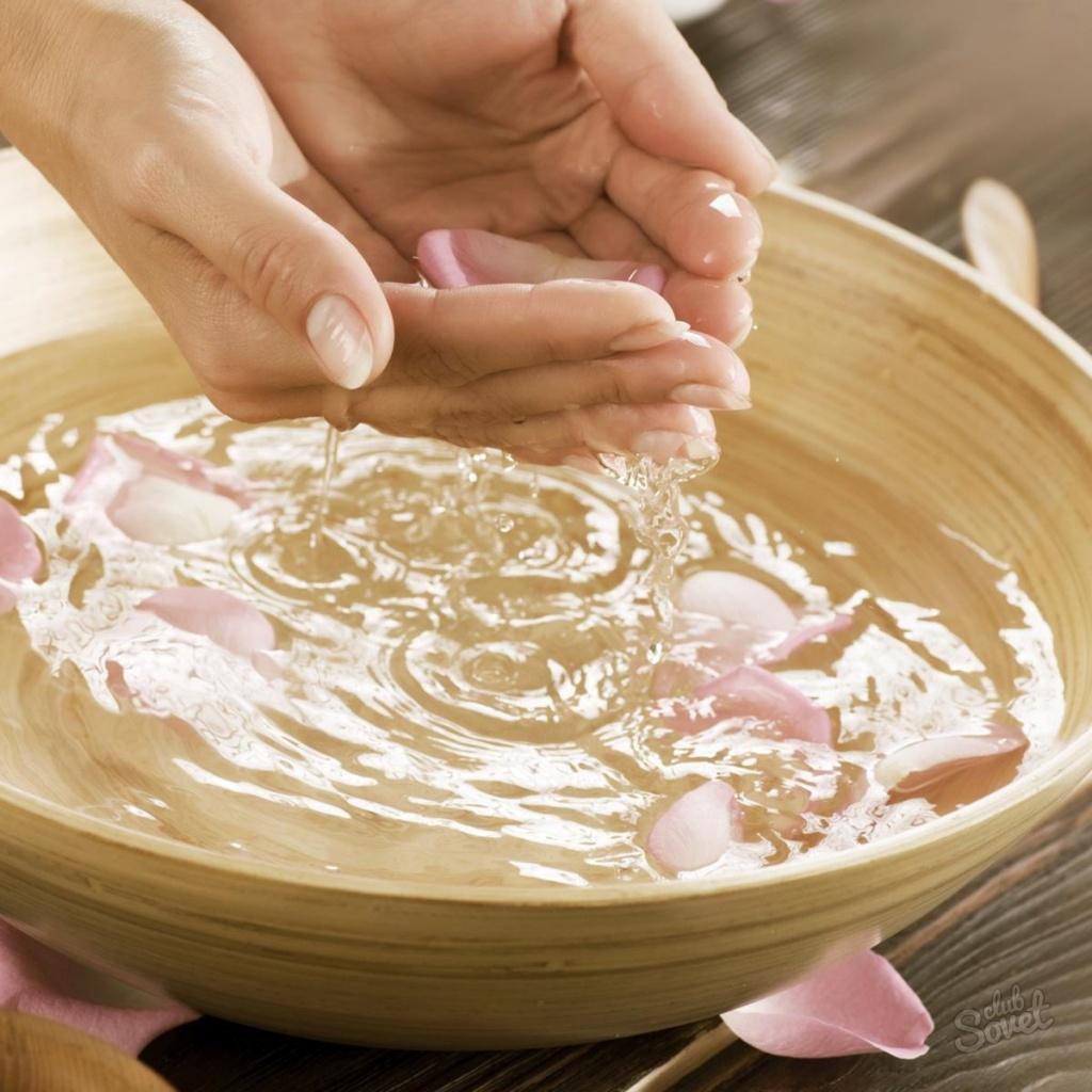 Как сделать ванну для роста ногтей