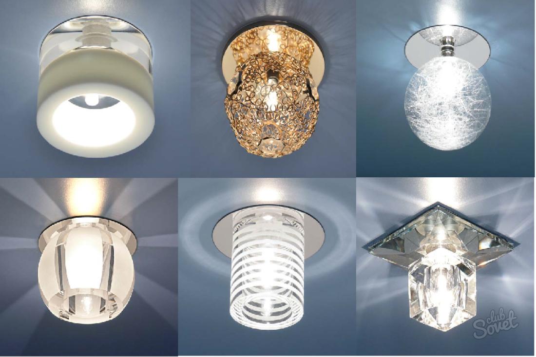 фото точечных светильников в квартиру