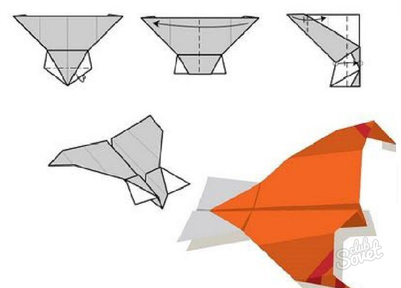 бумажных летательных