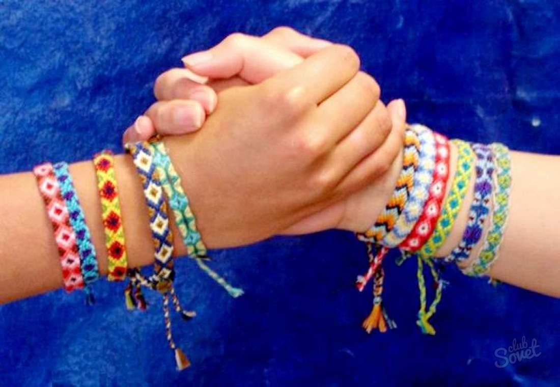 Как сделать браслеты дружбы