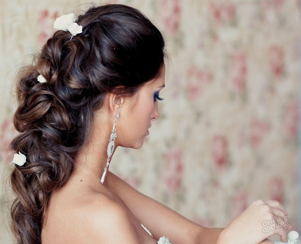 Причёска н длинные волосы с косами 21 фотография