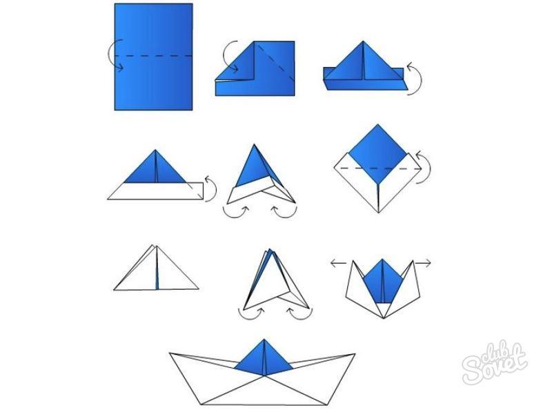 Как сделать кораблики не из бумаги а из чего то другого