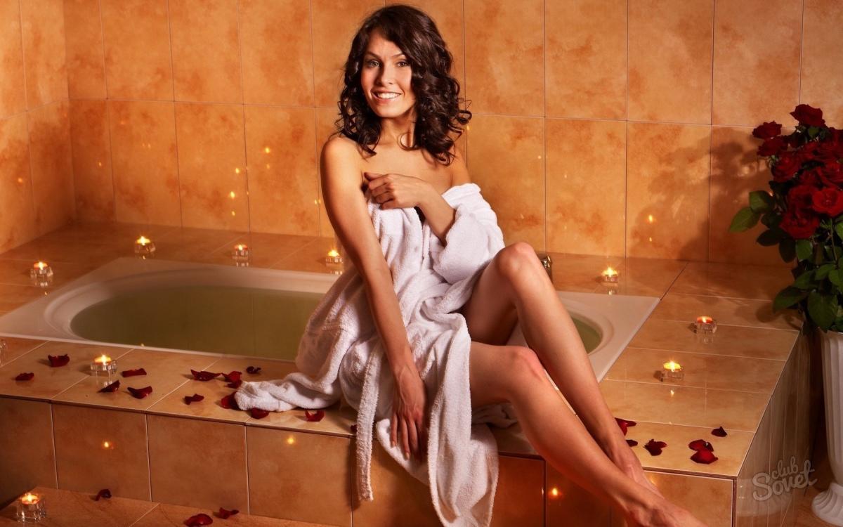 Фотоальбом девушки в ванной 6 фотография
