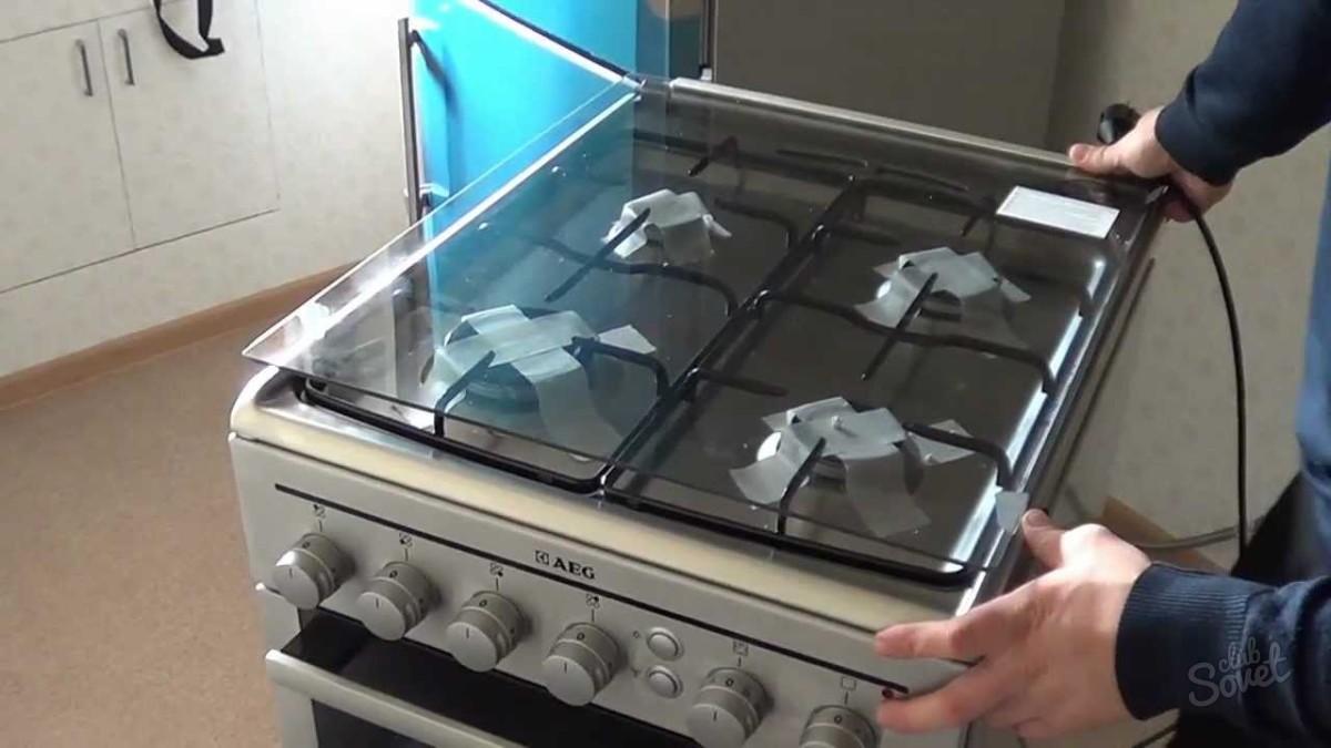 Установка газовых плит своими руками