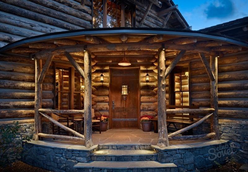 Строительство деревянного крыльца к дому своими руками