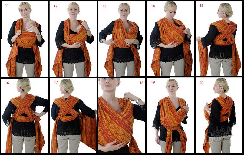 Как сделать из шарфа для ребенка в домашних условиях