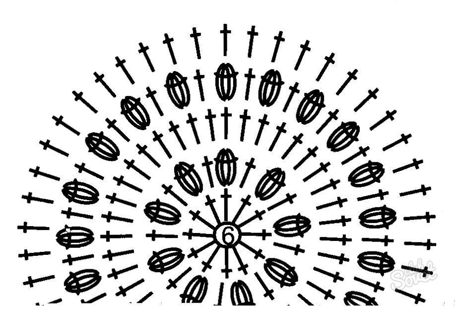 Как связать берет узор шишечки