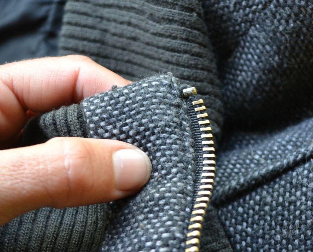 Как отремонтировать молнию в куртке