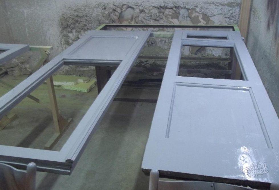 Двери межкомнатные замена стекла своими руками 29