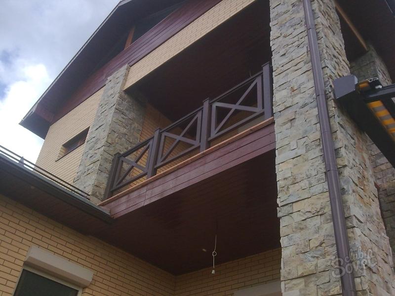 Перила для балкона на даче своими руками - блог - prizivonli.