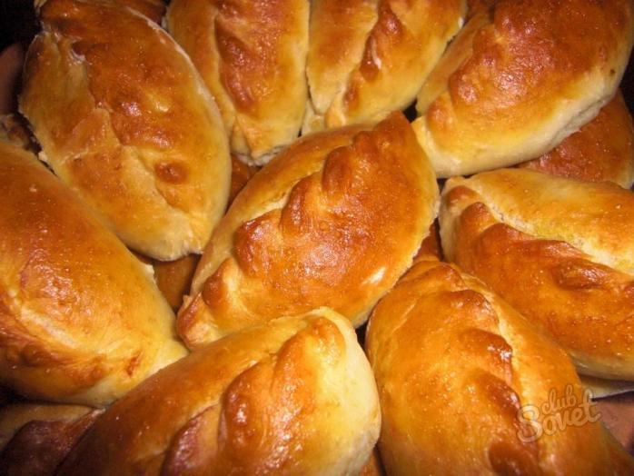 Пирожки с фаршем без дрожжей в духовке пошаговый рецепт с фото