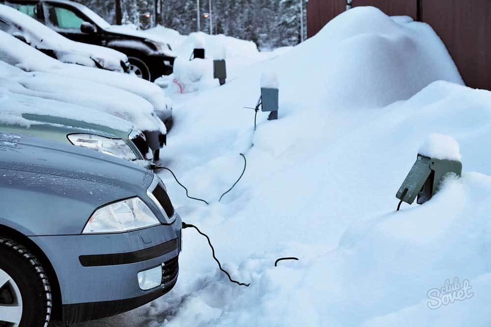 Подогрев двигателя зимой