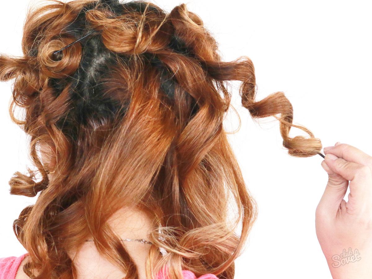 Быстро сделать кудри на длинные волосы