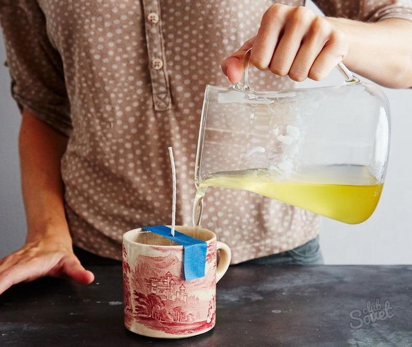 Чего и как сделать свечку в домашних условиях