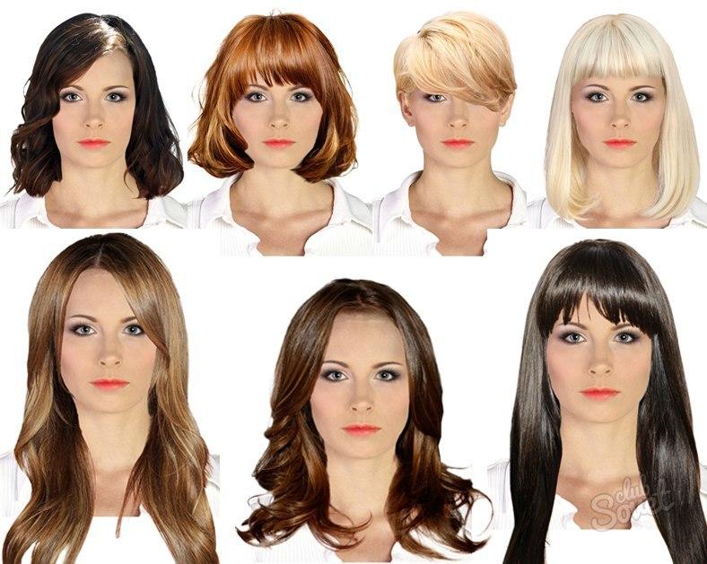 Фото стрижки для типа лица