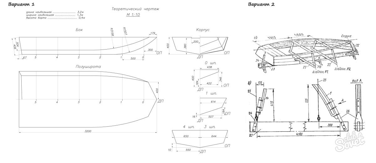 Деревянная лодка своими руками чертежи и схемы 4